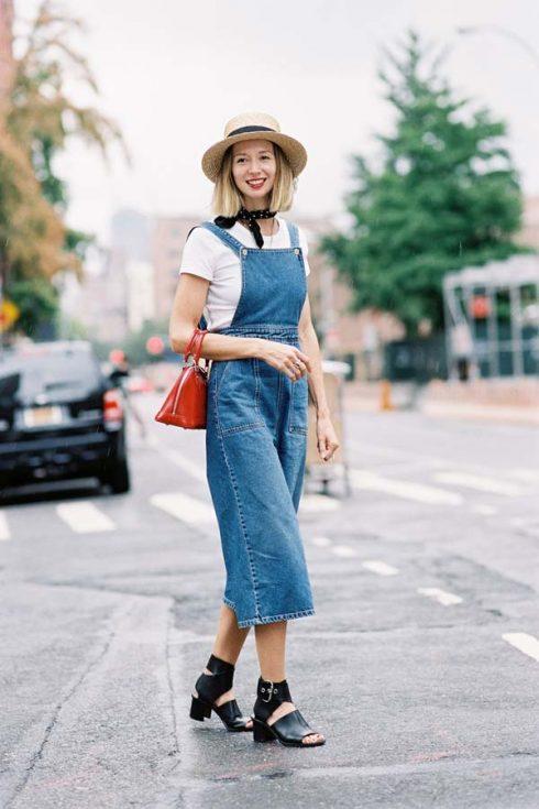 ELLE Style Calendar: Cá tính với quần yếm jeans 32222