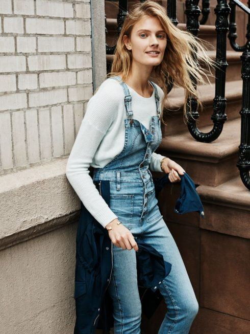 ELLE Style Calendar: Cá tính với quần yếm jeans 32