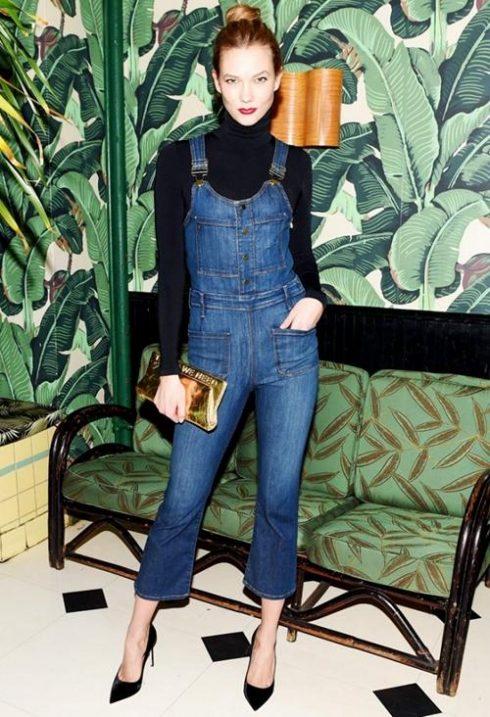 ELLE Style Calendar: Cá tính với quần yếm jeans 320