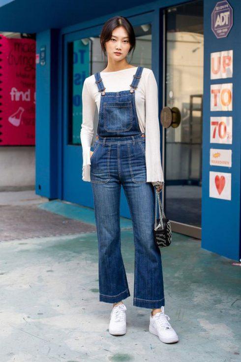 ELLE Style Calendar: Cá tính với quần yếm jeans 3265