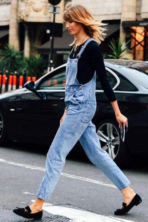 ELLE Style Calendar: Cá tính với quần yếm jeans 322