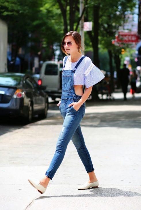 ELLE Style Calendar: Cá tính với quần yếm jeans 324