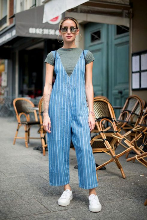 ELLE Style Calendar: Cá tính với quần yếm jeans 32132