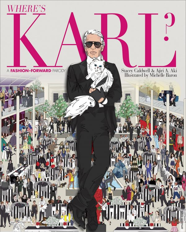 sách thời trang - Where's Karl, A Fashion-forward Parody - elle vietnam