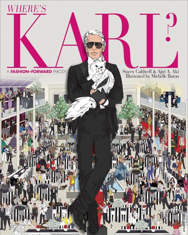 sách thời trang - Where's Karl, A Fashion-forward Parody - elle vietnam