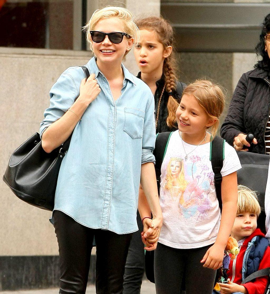 Michelle Willams và con gái