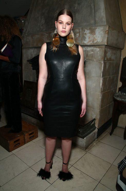 Melissa Koole tại show của Tracy Reese