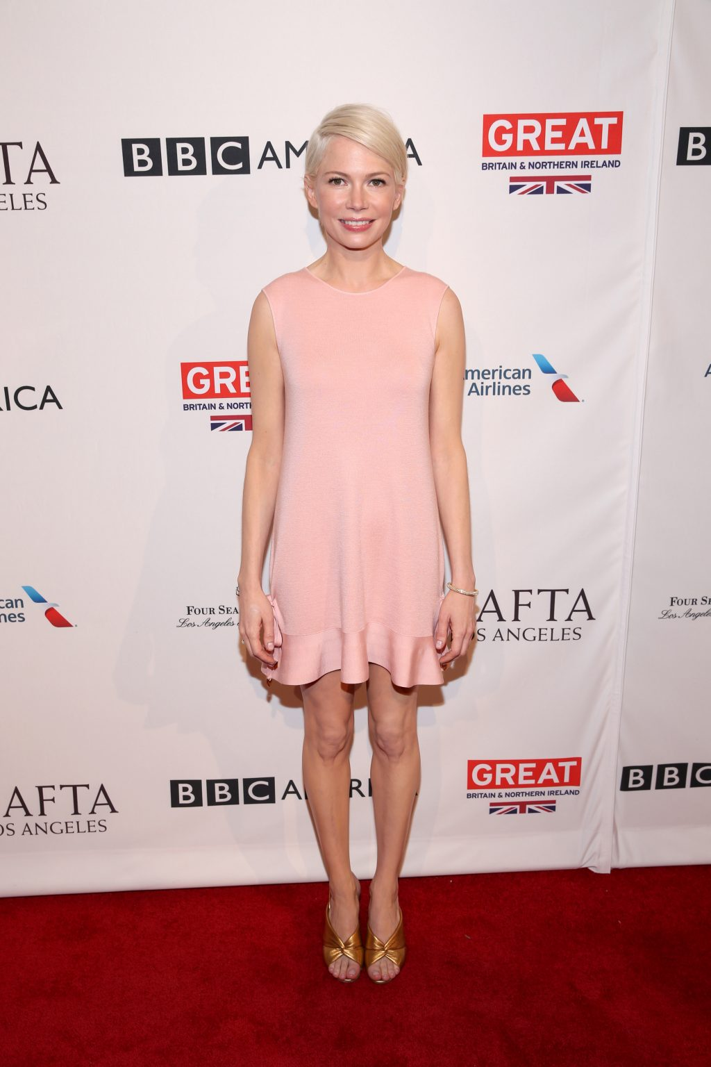 LOS ANGELES, CA - JANUARY 07: Actress Michelle Williams attends The BAFTA Tea Party at Four Seasons Hotel Los Angeles at Beverly Hills on January 7, 2017 in Los Angeles, California. (Photo by Phillip Faraone/Getty Images)
