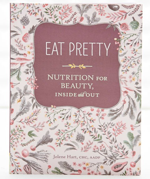 Sách huớng dẫn làm đẹp - Eat Pretty Nutrition for Beauty, Inside and Out - elle vietnam