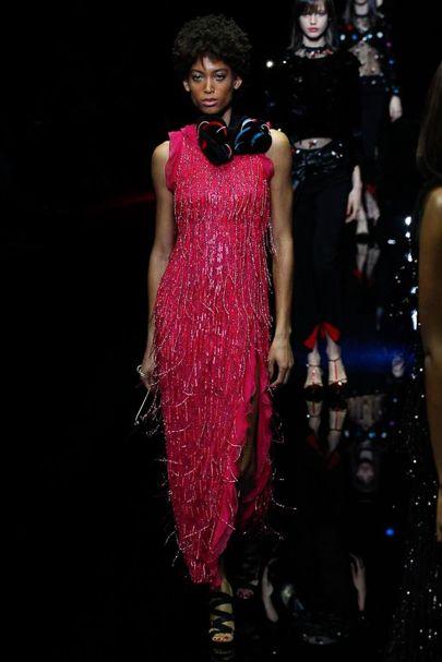 Một mẫu váy tuyệt đẹp trong BST Thu-Đông 2017 của Emporio Armani