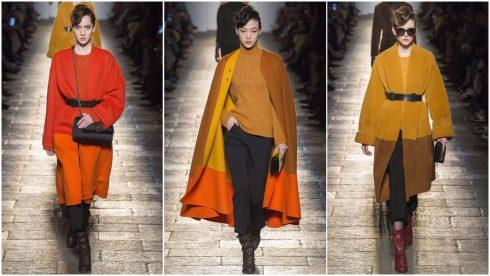 Những chiếc áo khoác phối hai tông màu