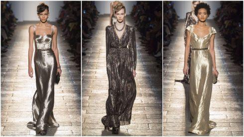 Những chiếc váy metallic khép lại BST của Bottega Veneta
