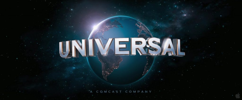 Logo hãng phim Universal Pictures.