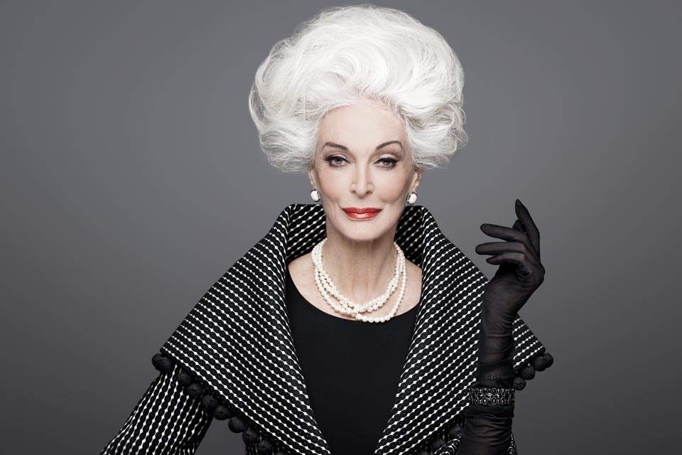 Những người mẫu già nhất của thời trang thế giới