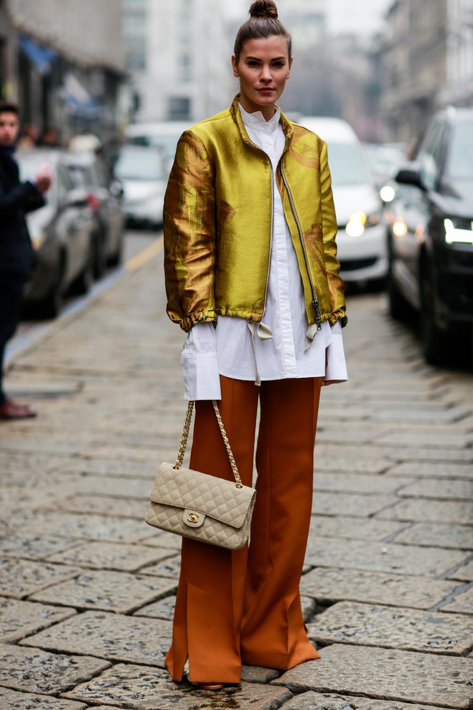 Toàn cảnh các street style đẹp nhất tại tuần lễ thời trang Milan