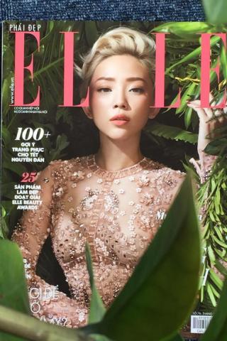 instagram@prettymuchchannel - Cover bìa Tóc Tiên