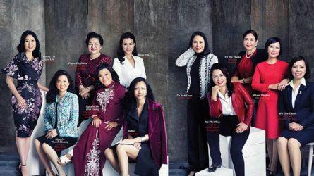 50 phụ nữ Việt Nam ảnh hưởng nhất 2017 theo Forbes Vietnam