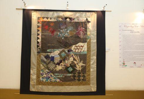 Tác phẩm Hòa quyện của nữ nghệ sĩ Noriko Yasui.