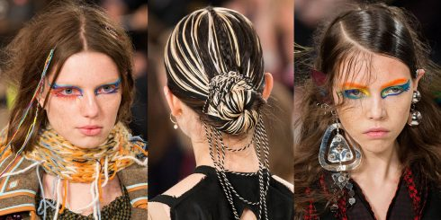 12 xu hướng trang điểm dẫn đầu Paris Fashion Week 2017 ELLE VN