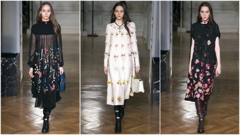 Những chiếc váy hoa của Valentino