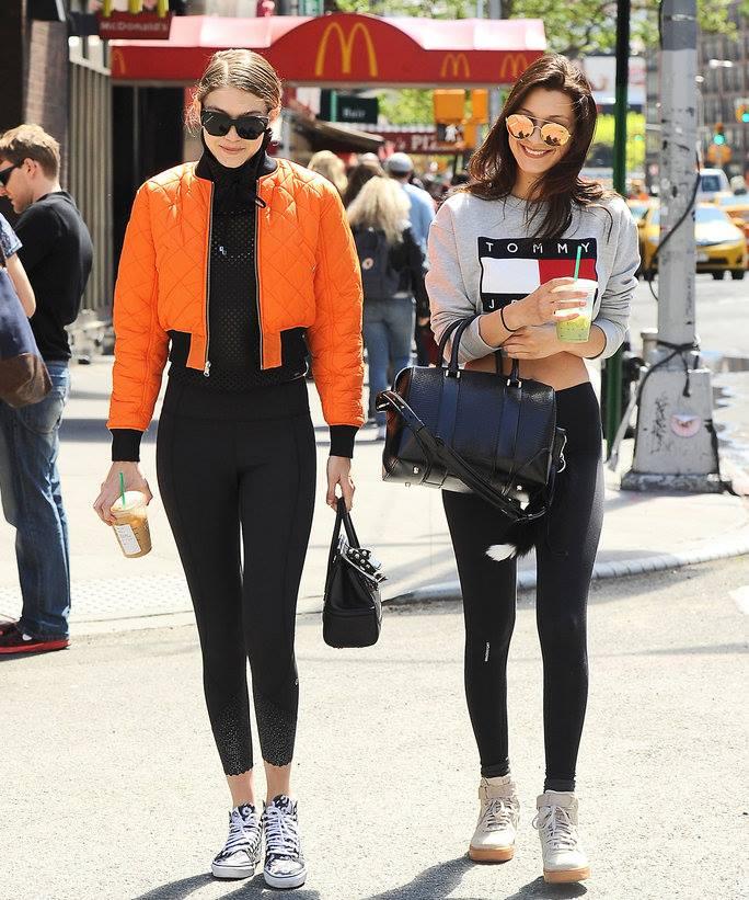Gigi Hadid và Bella Hadid chia sẻ cảm xúc khi làm việc cùng nhau