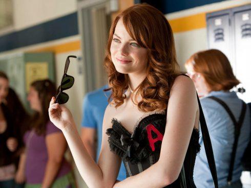 Nữ diễn viên đoạt giải Oscar - Emma Stone trong phim Easy A.