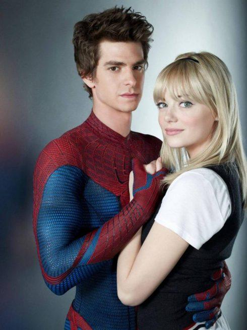 Nữ diễn viên đoạt giải Oscar - Emma Stone trong phim The Amazing Spider-Man.