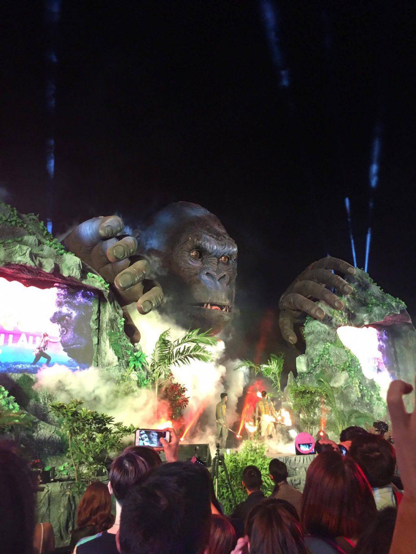 Sự cố hỏa hoạn tại lễ ra mắt phim bom tấn King Kong