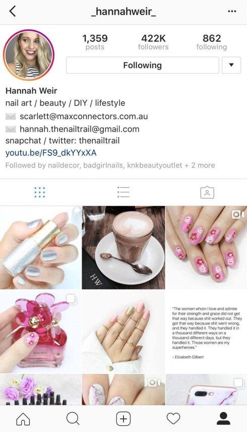 20 tài khoản Instagram dành cho nàng nghiện sơn móng tay ELLE VN