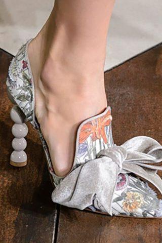 7 xu hướng giày nữ đẹp tại Tuần lễ thời trang Thu-Đông 2017