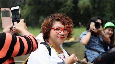Fiona, chuyên gia trang điểm người Việt của Kong: Skull Island