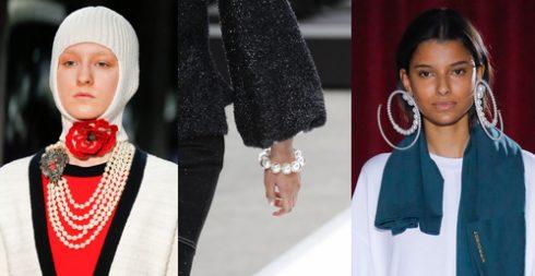 v10 xu hướng trang sức tại Tuần lễ thời trang Thu-Đông 2017 - ELLE VN