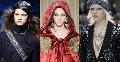 10 xu hướng trang sức tại Tuần lễ thời trang Thu-Đông 2017 - ELLE VN