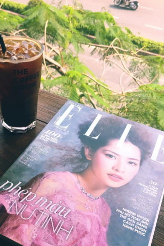 instagram@huynhptnhi - Bìa Chi Pu trên ELLE Vietnam