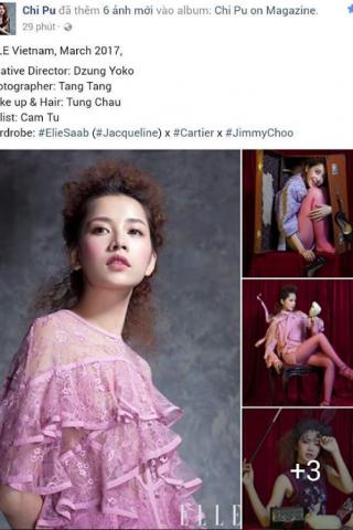 instagram@pu_pu_con - Bộ ảnh Chi Pu trên tạp chí ELLE T3/2017