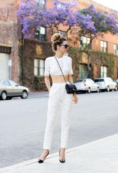 quần trắng