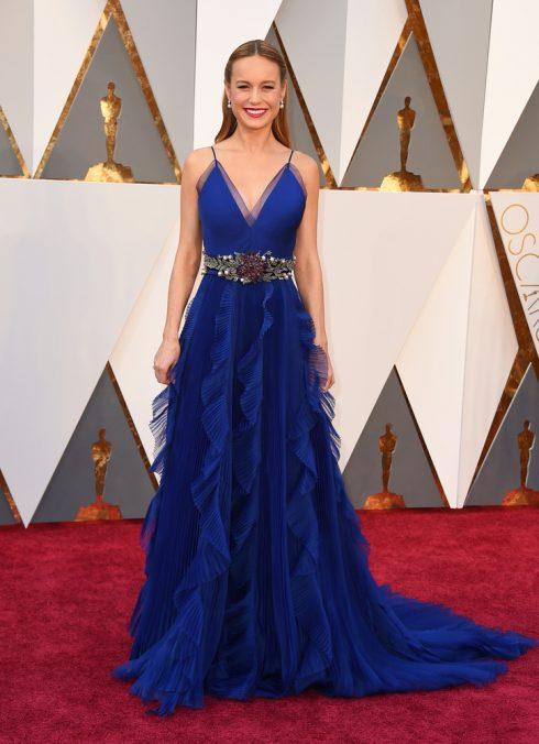 Thời trang thảm đỏ của Brie Larson