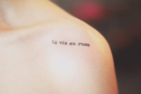 20 câu nói tiếng Pháp cho gợi ý hình xăm chữ ý nghĩa ELLE VN