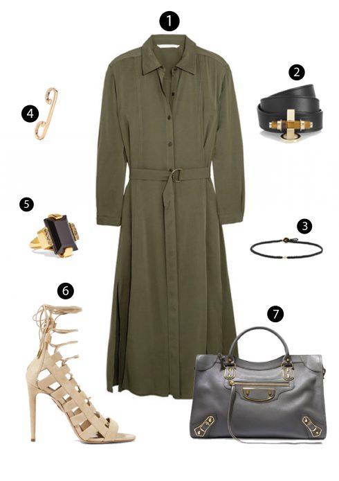 1. Diane Von Furstenberg/ 2. Givenchy/ 4.Repossi/5. Scosha/ 6. Aquazzura