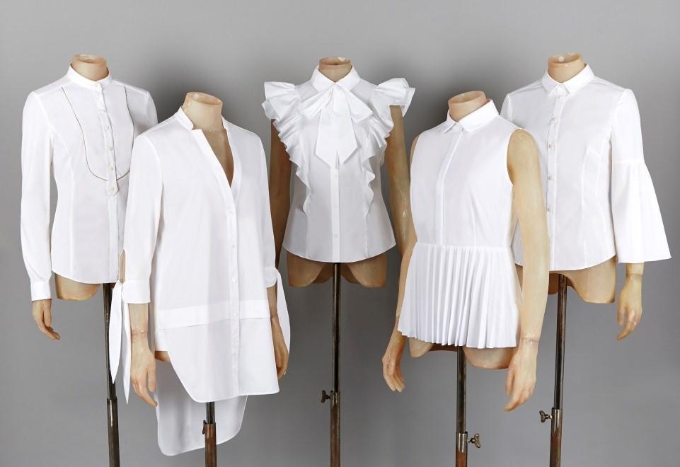 karen millen white shirt - elle vietnam 1