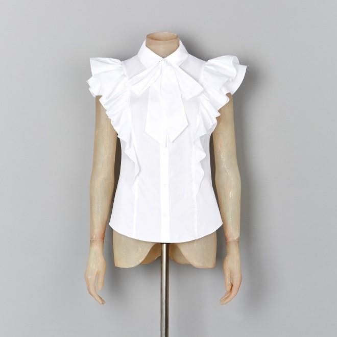 karen millen white shirt - elle vietnam 2