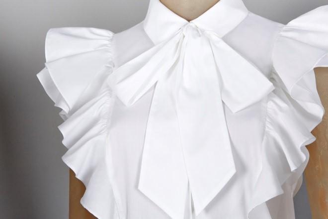 karen millen white shirt - elle vietnam 3