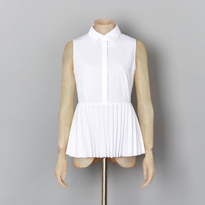 karen millen white shirt - elle vietnam 4