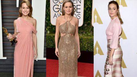 Thời trang thảm đỏ Brie Larson từ thời là diễn viên nhí đến nay