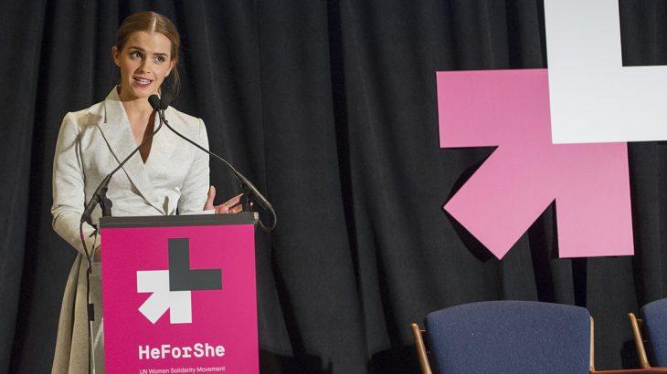 Emma Watson đã có bài phát biểu đầy ấn tượng trong chiến dịch He For She