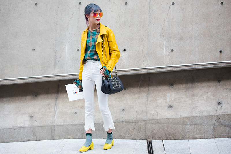 Đâu là màu tóc nổi bật nhất Seoul Fashion Week FW17?