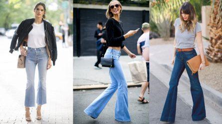 1 món đồ 6 phong cách với quần ống loe jeans