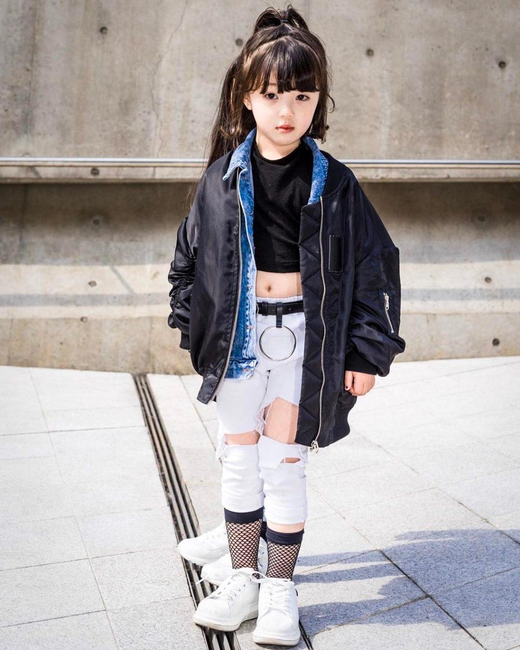 Những fashionista nhí từ Tuần lễ thời trang Seoul 2017