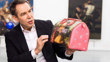 LOUIS VUITTON cùng nghệ sĩ Jeff Koons đưa Da Vinci trở lại