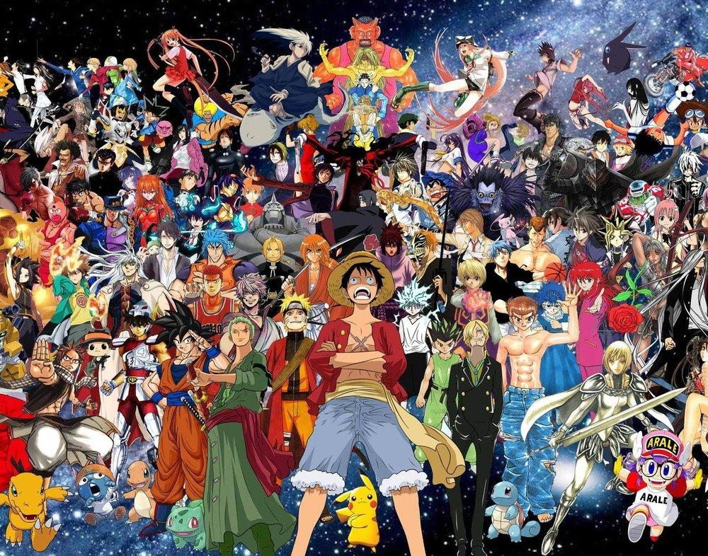 All the anime